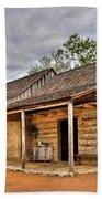 Log Cabin In Lbj State Park Bath Towel