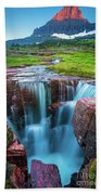 Logan Pass Abyss Bath Towel