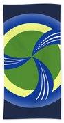 logo for TRAG Bath Towel