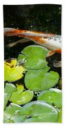 Loi With Lily Pads C Bath Towel