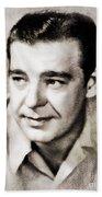 Lon Chaney, Vintage Actor Bath Towel