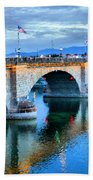 London Bridge At Sunrise Bath Towel