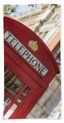 London Telephone 3 Bath Towel