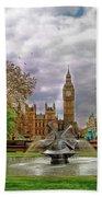 London's Big Ben  Bath Towel