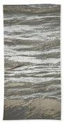 Lone Sea Gull Bath Towel