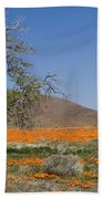 Lone Tree In The Poppies Hand Towel