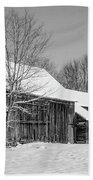Lonely Grey Barn Bath Towel