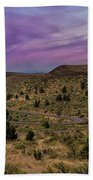 Long Winding Road In Central Oregon Bath Towel