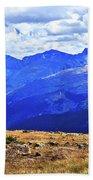 Longs Peak Rocky Mountain National Park Bath Towel