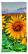 Longs Sunflowers Bath Towel