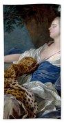 Loo, Louis-michel Van Tolon, 1707 - Paris, 1771 Diana In A Landscape 1739 Hand Towel