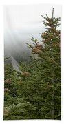 Looking Down From Mnt. Mitchell Bath Towel