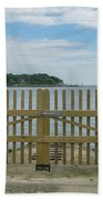Looking From Brownsea Towards Sandbanks And Shell Bay Hand Towel