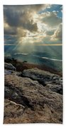 Lookout Mountain Sunset Bath Towel