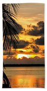 Lopez Point Sunset Hand Towel
