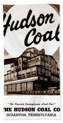 Loree Colliery Larksville Pa. Hudson Coal Co  Bath Towel