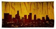 Los Angeles Hand Towel