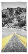 Los Padres Country Highway Hand Towel