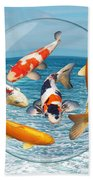 Lost In A Daydream - Fish Out Of Water Bath Towel