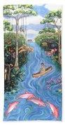 Lost In The Amazon Bath Towel