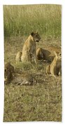 Lotsa Lions Bath Towel