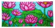 Lotus Bliss II Bath Towel