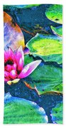 Lotus Blossom Bath Towel