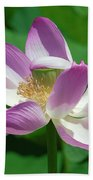 Lotus--center Of Being--protective Covering I Dl0087 Bath Towel
