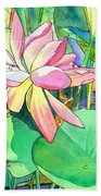Lotus Flower Bath Towel
