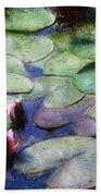 Lotus Lake Bath Towel
