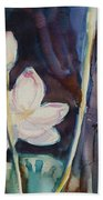 Lotus Study II Bath Towel