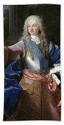 Louis De Bourbon Of Savoy. Prince Of Asturias. Later Louis I Of Spain  Bath Towel