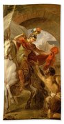Louis Galloche - A Scene From The Life Of St. Martin Bath Towel