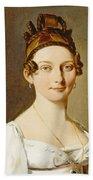 Louis-leopold Boilly - Portrait Of A Lady Bath Towel
