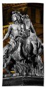 Louis Xiv By Bernini Bath Towel