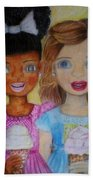 Love And Friendship  Hand Towel