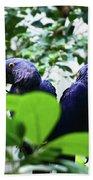 Love Birds Bath Towel