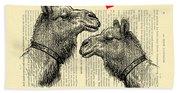 Love Camels Hand Towel