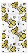 Love Connection - Valentines Bath Towel