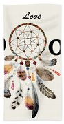 Love Dior Watercolour Dreamcatcher Hand Towel