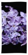 Love In Lilac Bath Towel