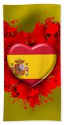 Love Spain Bath Towel