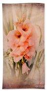 Lovely Gladiolus Hand Towel