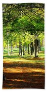 Lovely Grouping Of Trees In Mississippi Bath Towel