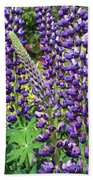 Lovely Lupines Bath Towel