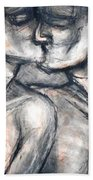 Lovers - Kiss Bath Towel