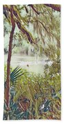 Lowcountry Summer Hand Towel