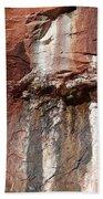 Lower Emerald Pool Rock-zion National Park Bath Towel