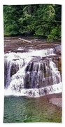 Lower Lewis Falls Bath Towel