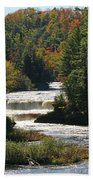 Lower Tahquamenon Falls  4349 Bath Towel